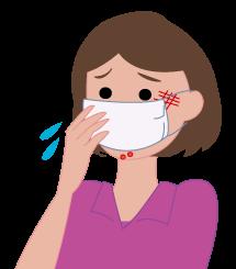 マスク皮膚炎は仙臺薬局におまかせください