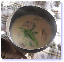 妊娠力アップレシピ★牡蠣とコーンのミルクスープ