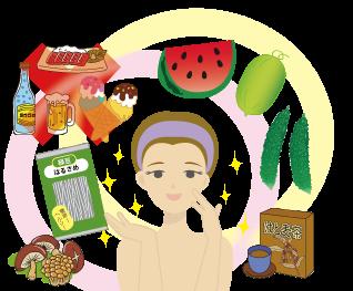 梅雨~夏の皮膚トラブルの養生法♪仙臺薬局におまかせください